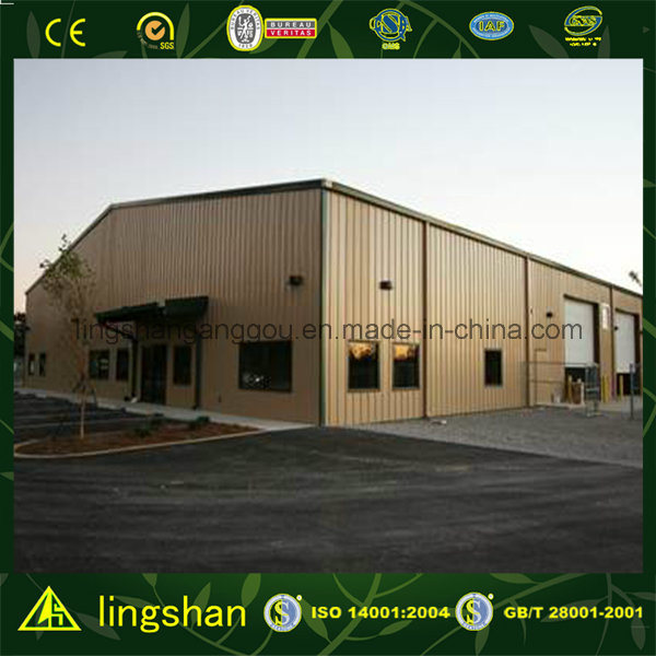 Steel Structrue Prefab Repair Warehouse (LS-S-007) pictures & photos
