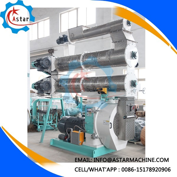 China Manufacture Chicken Cattle Livestock Fish Poultry Pig Animal Feed Pellet Mill Feed Pellet Making Machine pictures & photos