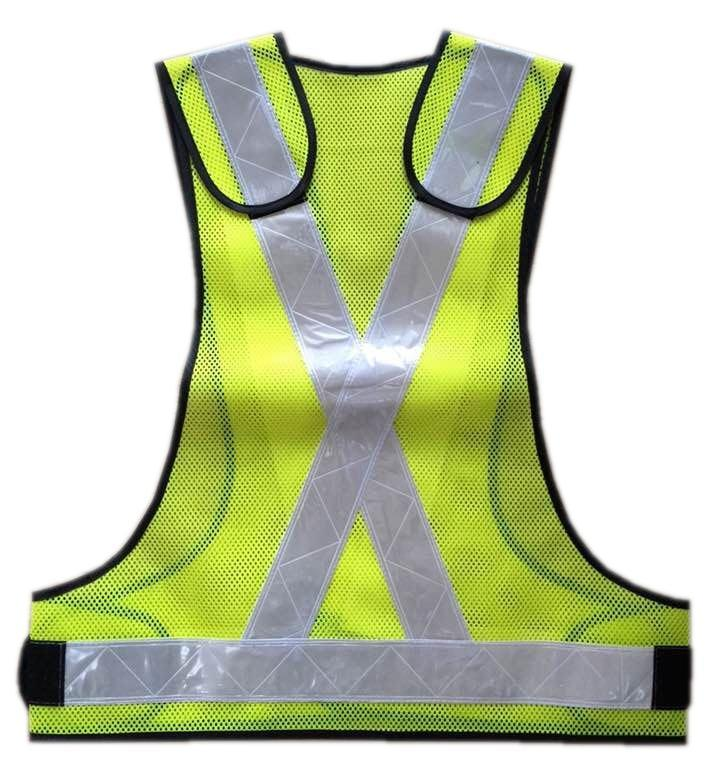 Safety Vest with PVC Tape and Mesh Fabric pictures & photos