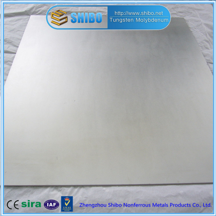 Factory Direct Supply Molybdenum Plate with Super High Purity 99.95%