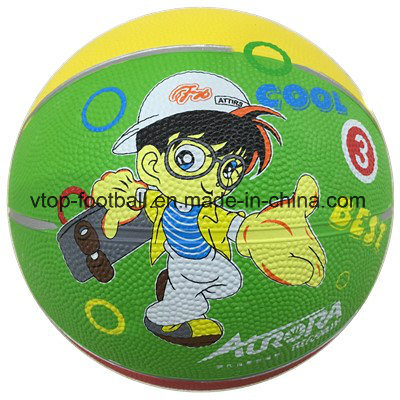 Three Color Toy Rubber Basketball pictures & photos