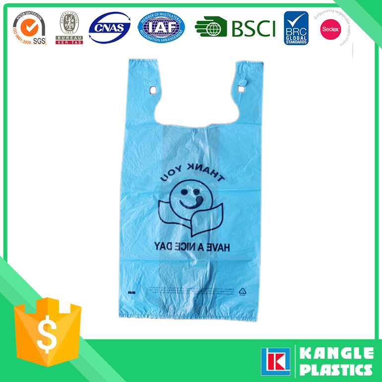 Supermarket Compostable Shopping Bag with Printing