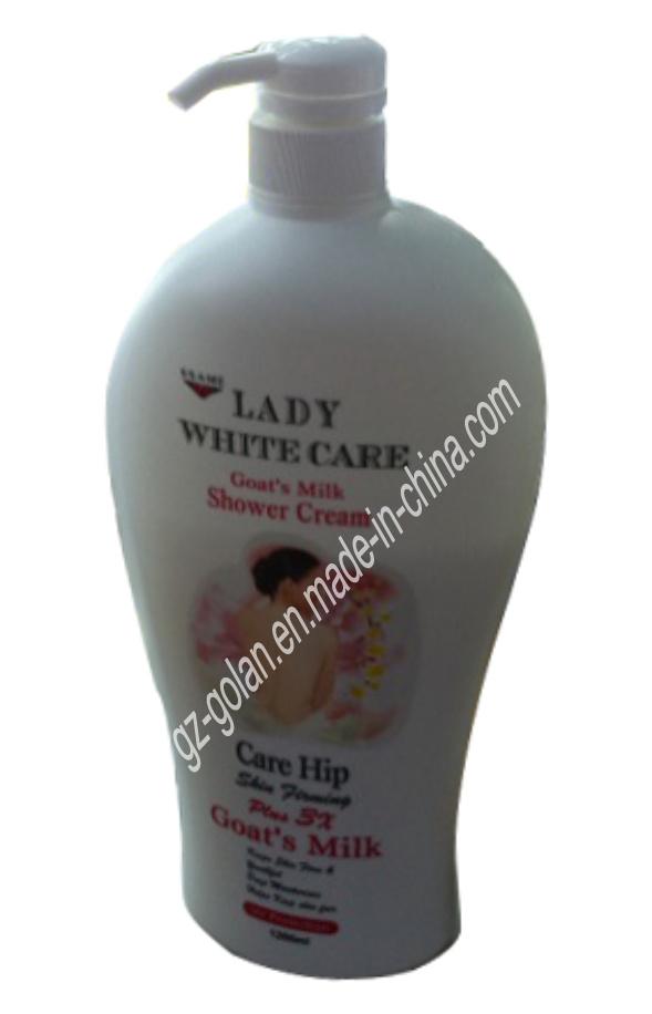 China Lady White Care Goat S Milk Shower Cream 1200ml Gl Bw0007 Gel Body