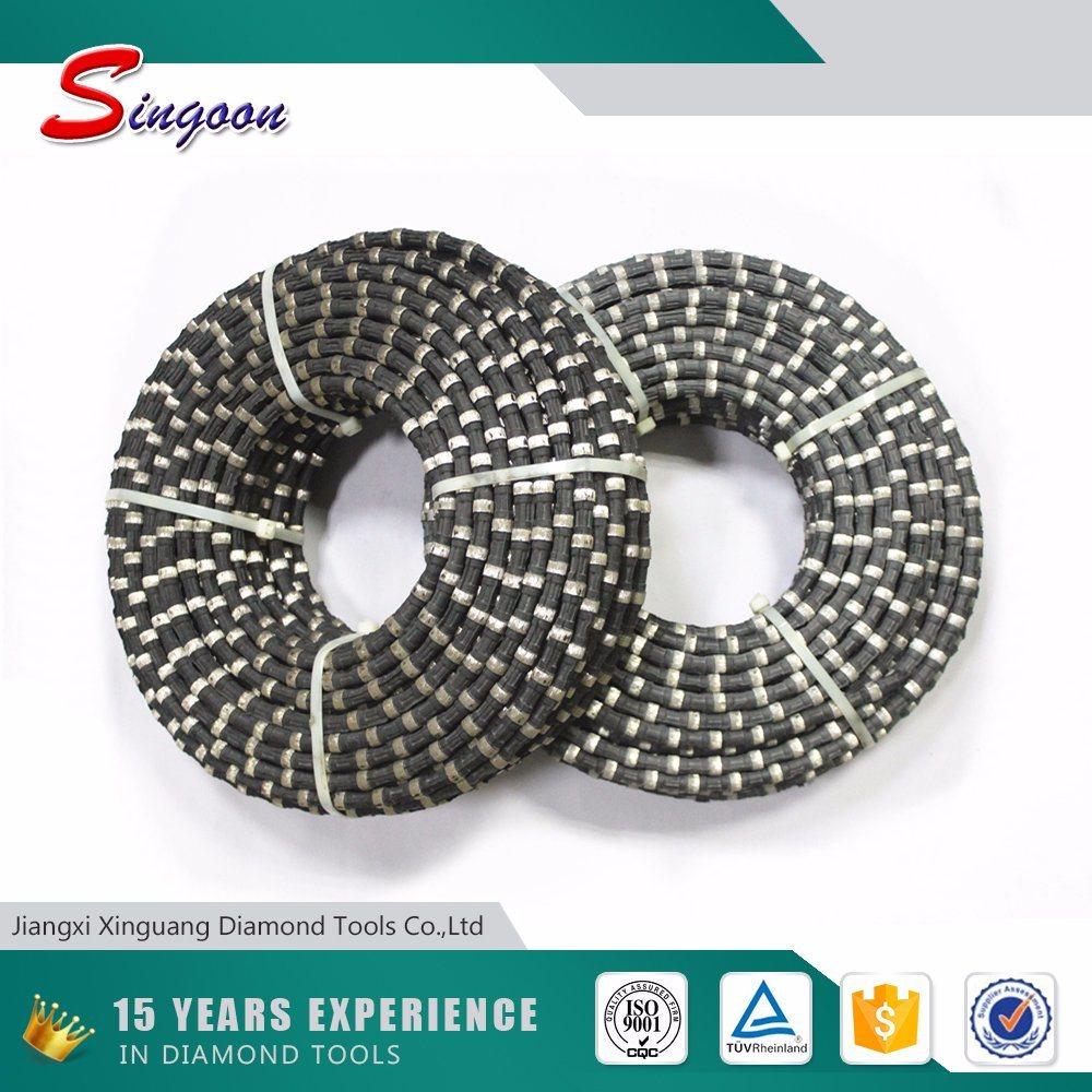 China Diamond Wire Saw Blade with Rubber Spring - China Diamond Wire ...