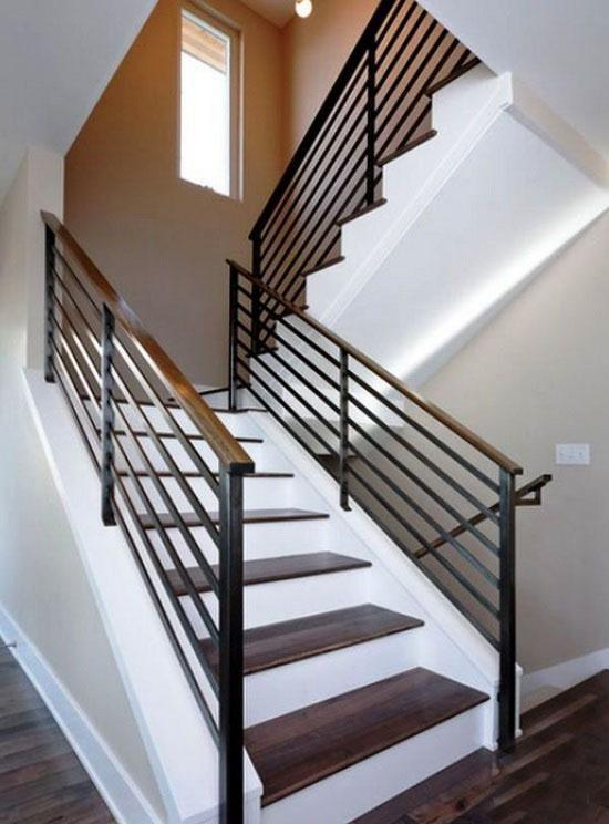 China Indoor Metal Stair Railing Staircase Balustrade Handrail Security Fence China Fencing Guardrail