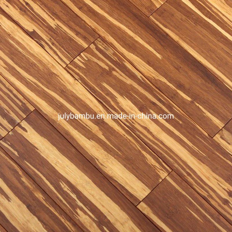 China Tiger Stripe Solid Bamboo Strand, Laminate Bamboo Wood Flooring