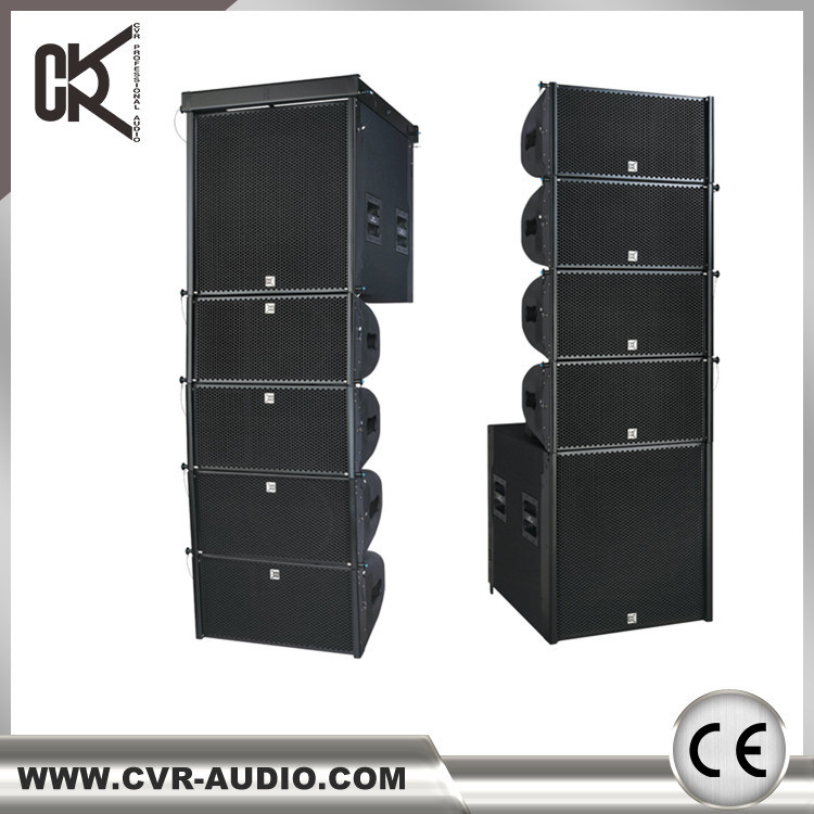 Powered 12 Inch Two-Way Line Array System Birch Plywood Outdoor Equipment
