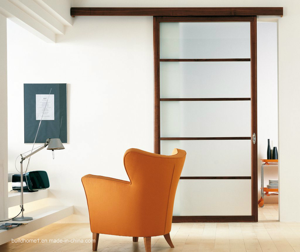 China Top Rail Hanging Sliding Interior Doors For Internal Lounge