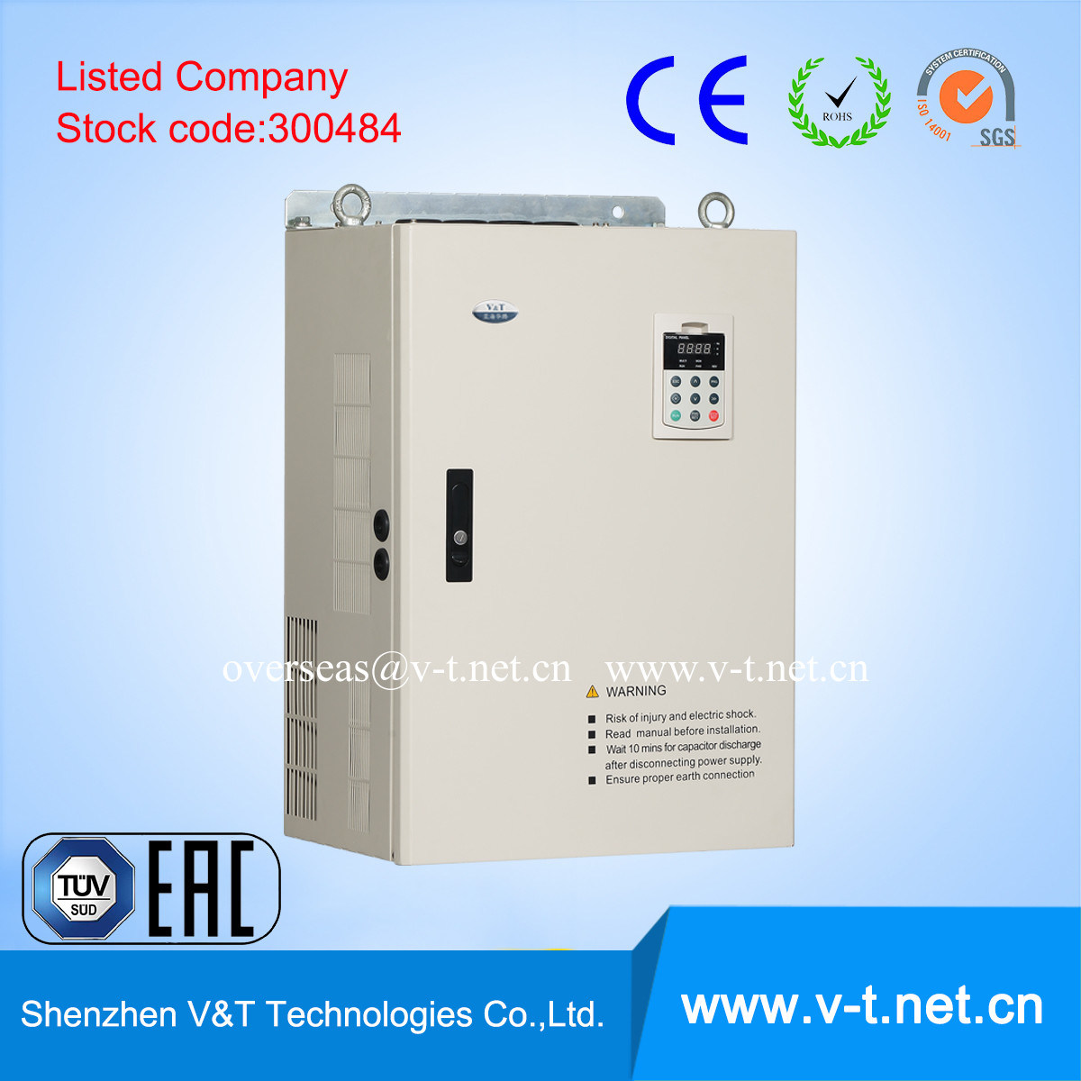 China 132kw Frequency Inverter - China Variable Frequency Drive, Vector  Control Frequency Inverter
