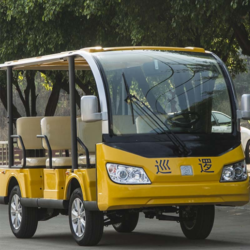 China Hot Sale 8 Seaters Electric Sightseeing Bus pictures & photos