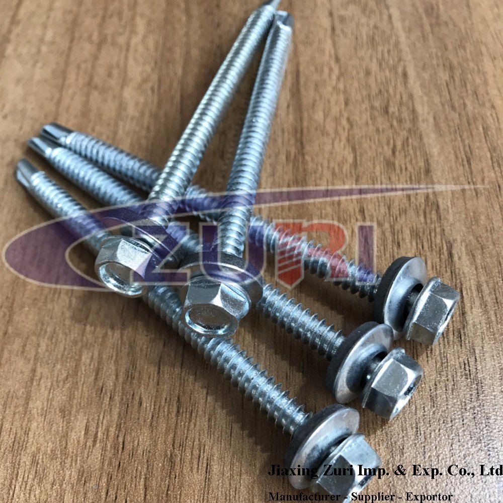 Roofing Screw 5.5X75 pictures & photos