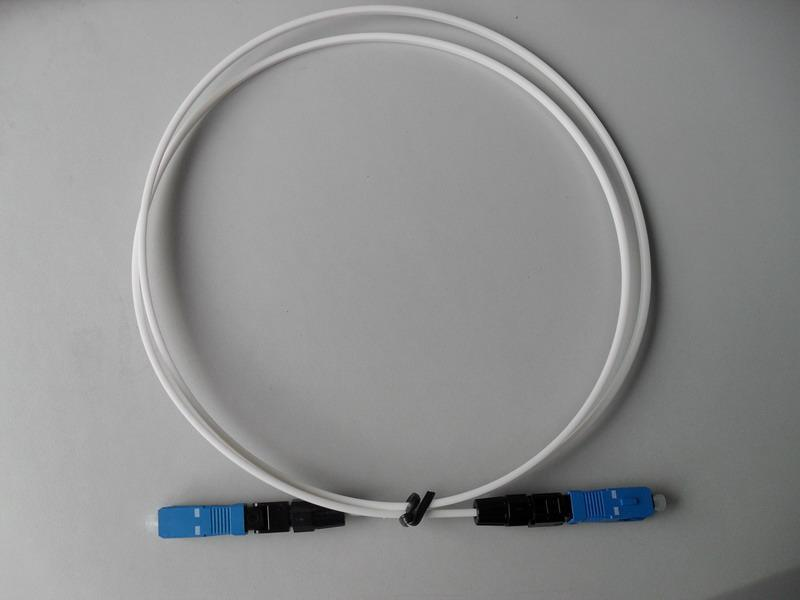 Drop Cable 1 Fiber Optical Cable for Home Use G657A1 Lszsh Indoor Used in Telecommunication