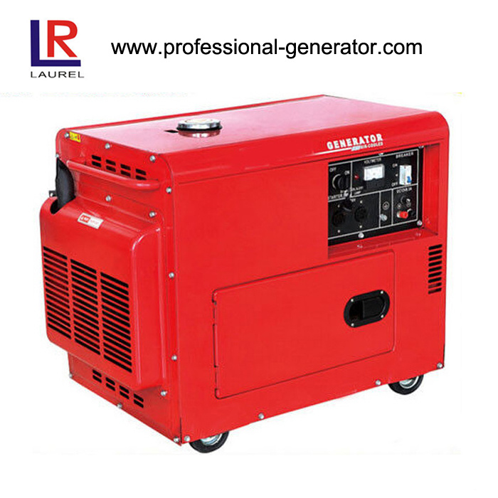 [Hot Item] Small Silent Diesel Generator with 4 2kw/5 Kw Low Fuel  Consumption