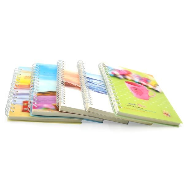 Chinese Supplier Spiral Bound Notebook With Color Pages China