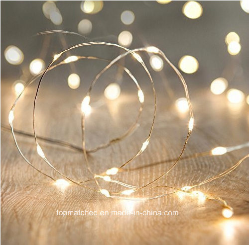 White String Christmas Lights.Hot Item Led Fairy String Christmas Lights With White Leds On Copper Wire