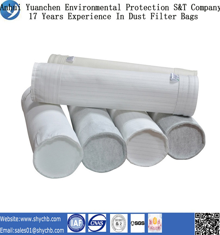 Nonwoven Needle Punched Filter Bag Polyester Filter Bag