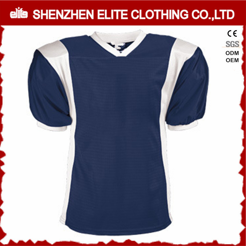 f51f265d579 China Wholesale Cheap Plain American Soccer Jersey Blue and White  (ELTSJI-6) - China American Football Jersey Set, American Football Jersey  Sublimated