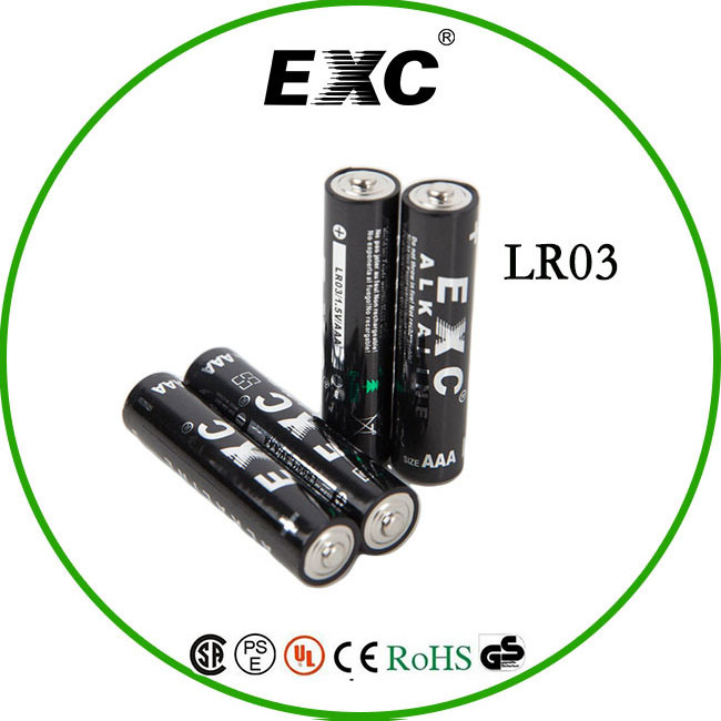 1.5V Alkaline AAA Lr03 Am4 Battery Foil Jacket