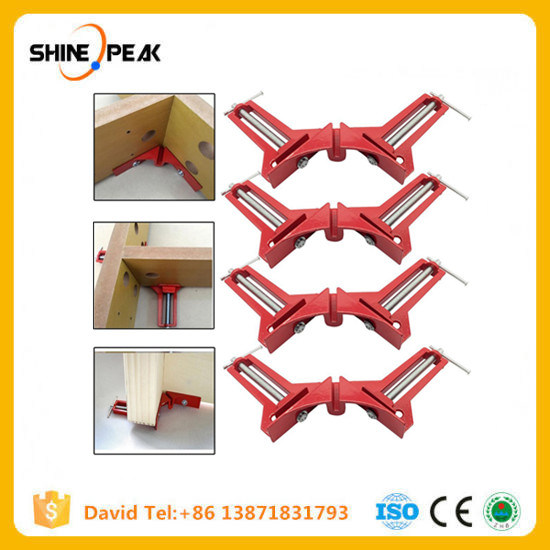 90 Degree Right Angle Miter Corner Clamp capacity Picture Frame Woodwork 4 inch