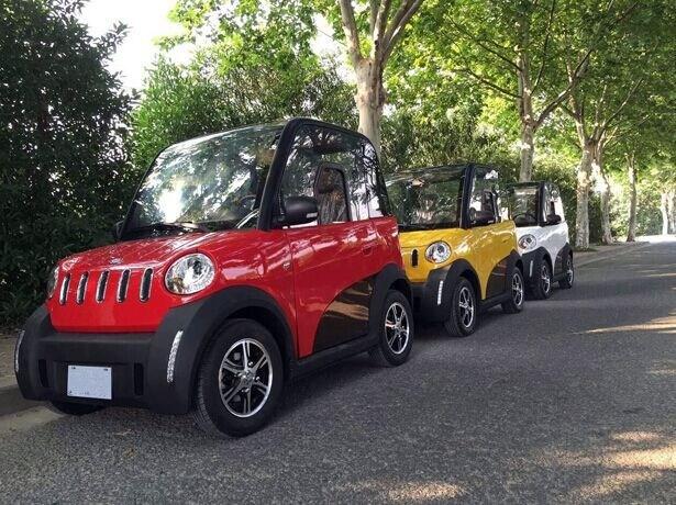 China Le Performance Smart Car Rwd 4 Seats Mini Lhd
