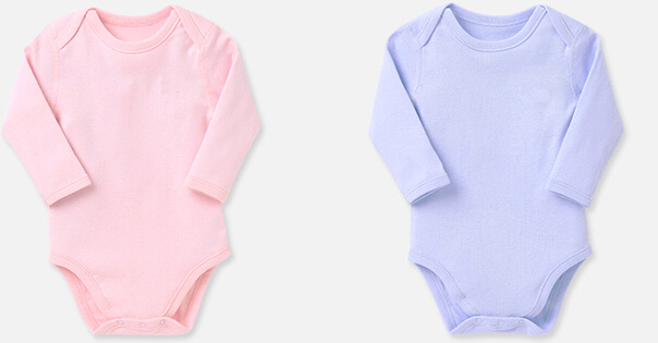 Babmoo Organic Cotton Soft Infant Rompers
