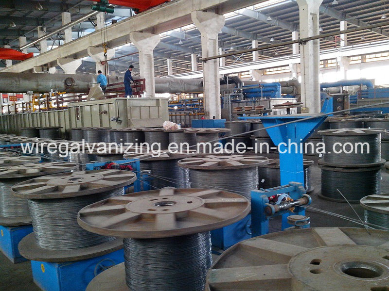 China Steel Wire Pay-off Pre-Cleaning Annealing Take-up Production ...