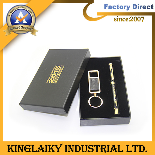 [Hot Item] High End Promotional Gift Set Keychain + Pen (KSB-004A)
