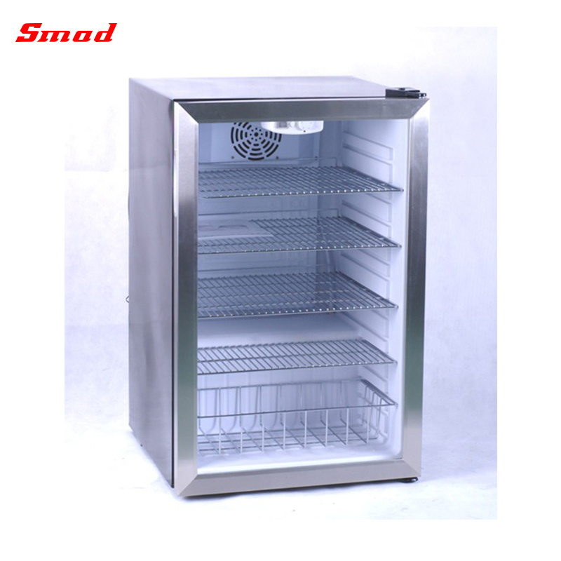 China Wholesales Price Mini Glass Door Fridge For Hotel And Home Use