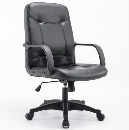 PU Leather Director Medium Back Office Chair Executive Swivel Chair