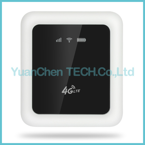 2016 FDD-Lte 4G Portable WiFi Route 5200 mAh or Power Bank with Dongle SIM Card Slot RJ45 Port Router pictures & photos