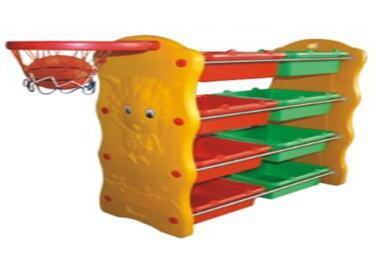 China Kid Furniture Preschool Children Plastic Storage Cabinets