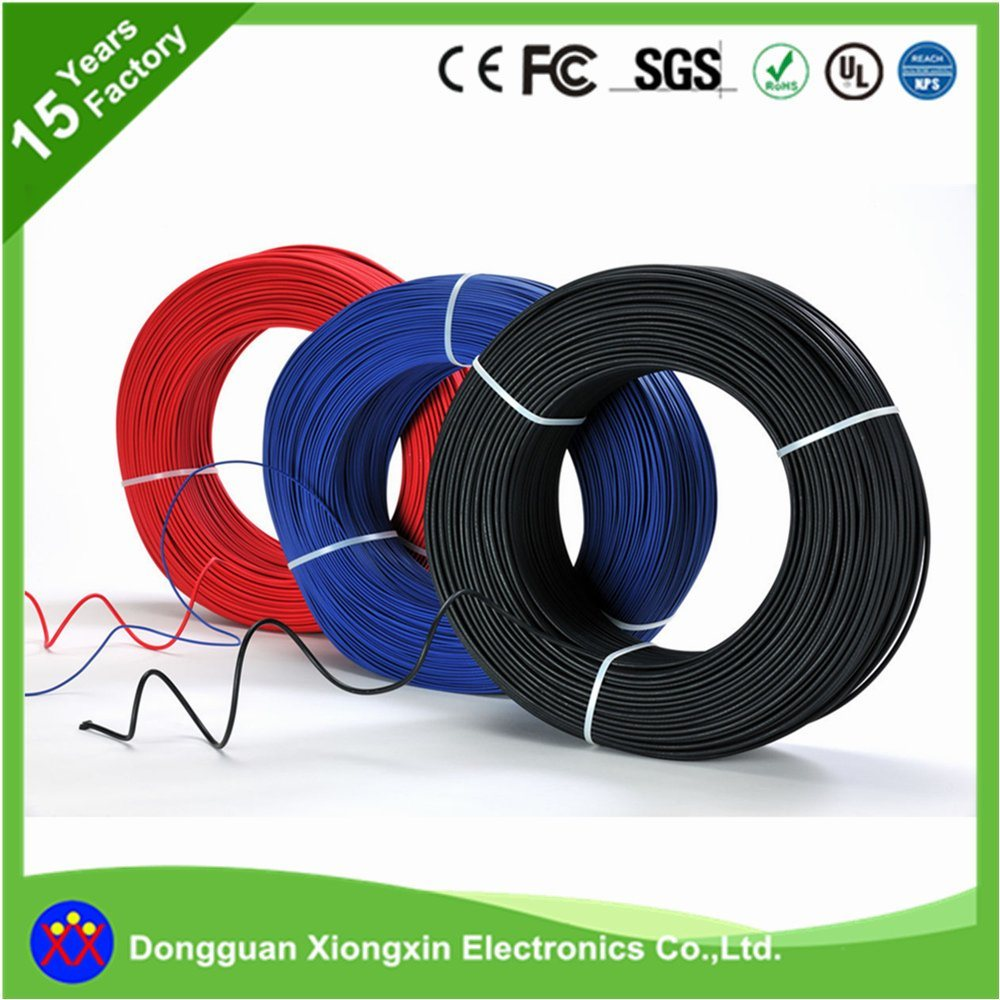 China UL 3132 Flexible Silicone Rubber Tinned or Bare Copper ...