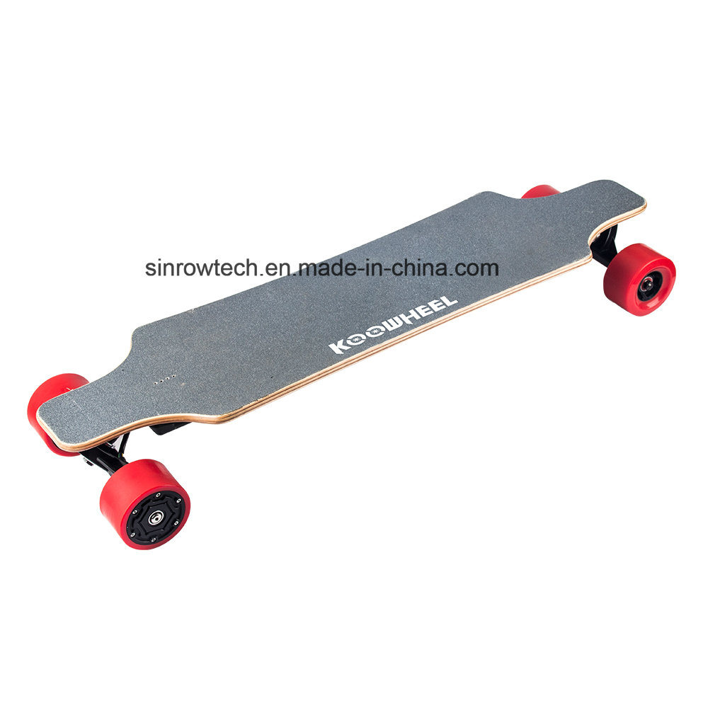 Dual Hub Motor 4 Wheels Electric Moterized Longboard Skateboard with Remote Control