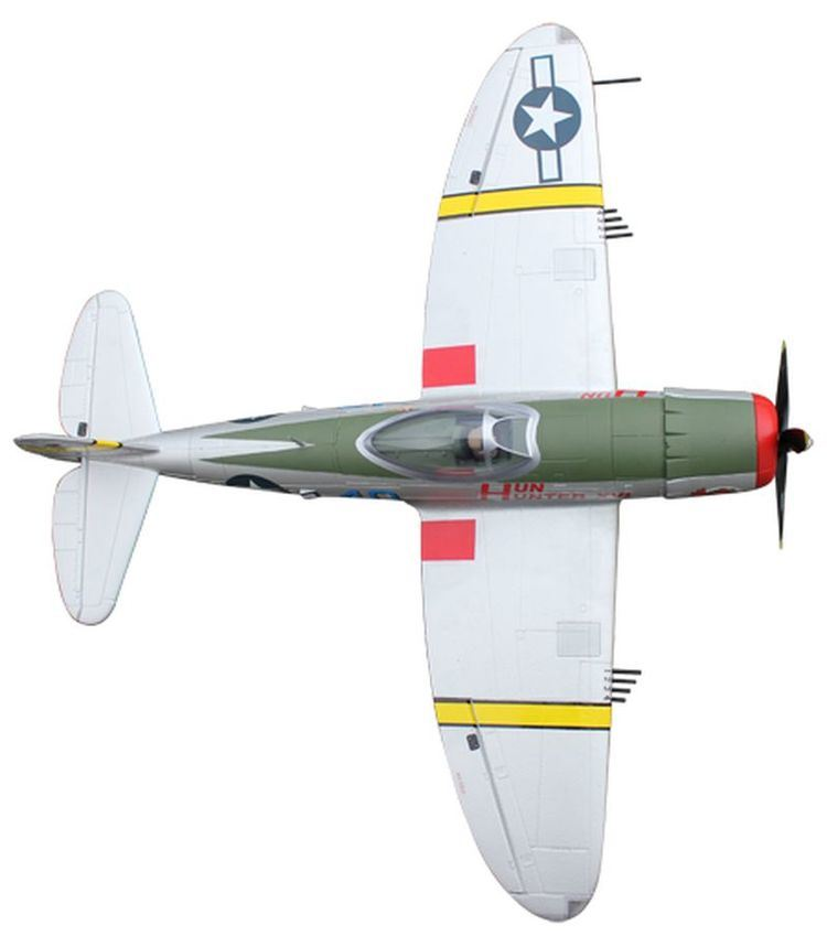 China 1068956-2 4GHz Ready-to-Fly 1220mm RC Warbird Plane