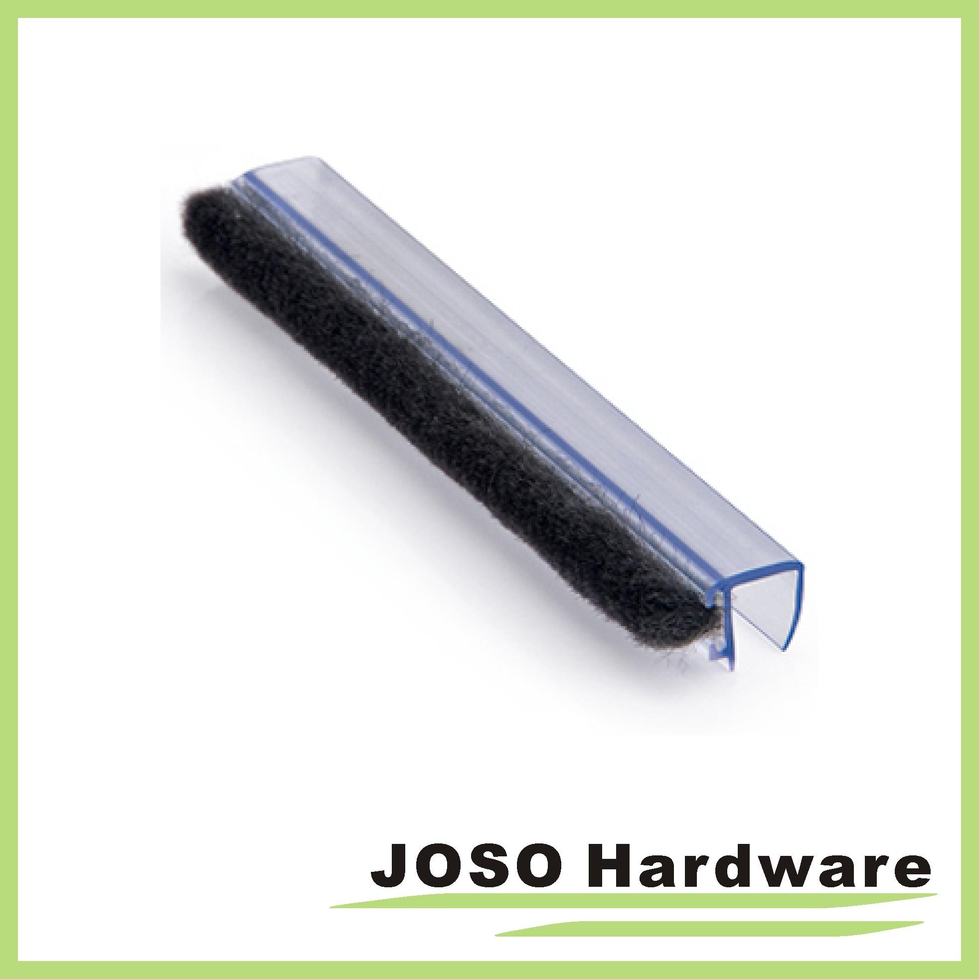 seal sunny drip shower sweep frameless bottom dp amazon com length door wipe rail