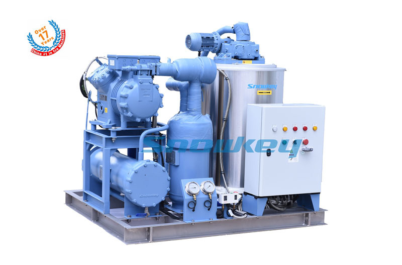 Newest Design 3tons Per Day Seawater Flake Ice Maker Machine for Fishery pictures & photos