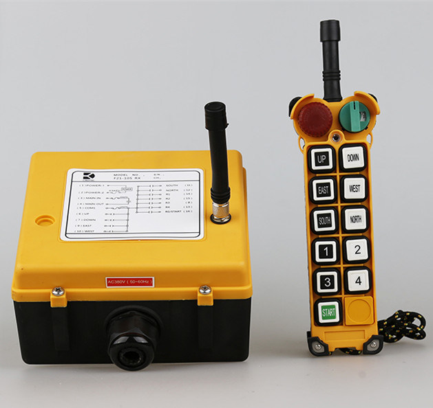 Industrial Wireless Tower Crane Remote Control, Radio Hoist Remote Control pictures & photos