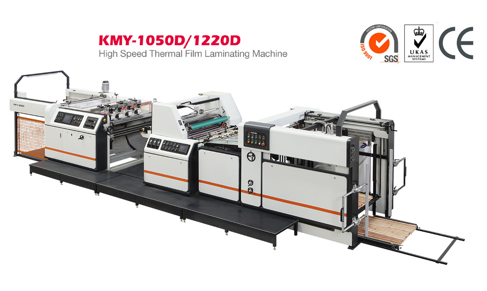 High Speed Thermal Film Laminating Machine with Hot Knife (KMY-1050D)