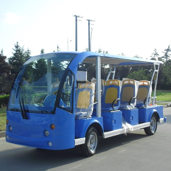 China Factory Battery Power 11 Seater Electric Shuttle Car (DN-11) pictures & photos