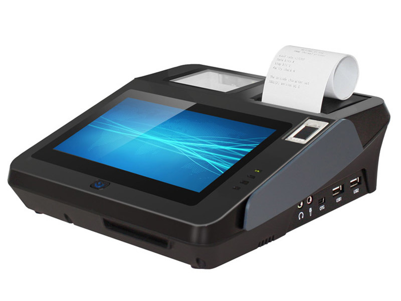 Android OS NFC Qr Barcode IC Card Payment Terminal POS Barcode Reader pictures & photos