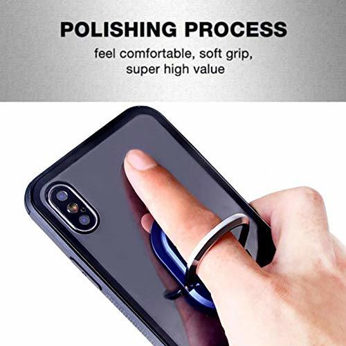 Cell Phone Ring Holder Stand Universal Air Vent Car Multipurpose Mobile Phone Bracket Holder Phone Mount and Finger Grip Ring Kickstand