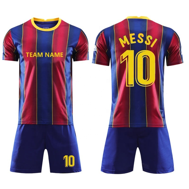 China Top Fc Barcelona Soccer Jersey 2020 2021 Camisetas De Futbol Ansu Fati 19 20 Messi Griezmann De Jong Maillots De Football Shirt Men Kids Kit Photos Pictures Made In China Com