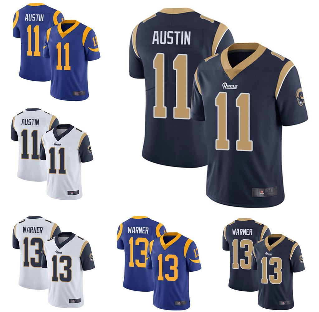China Cheap Custom Tavon Austin Kurt Warner Throwback Football ...