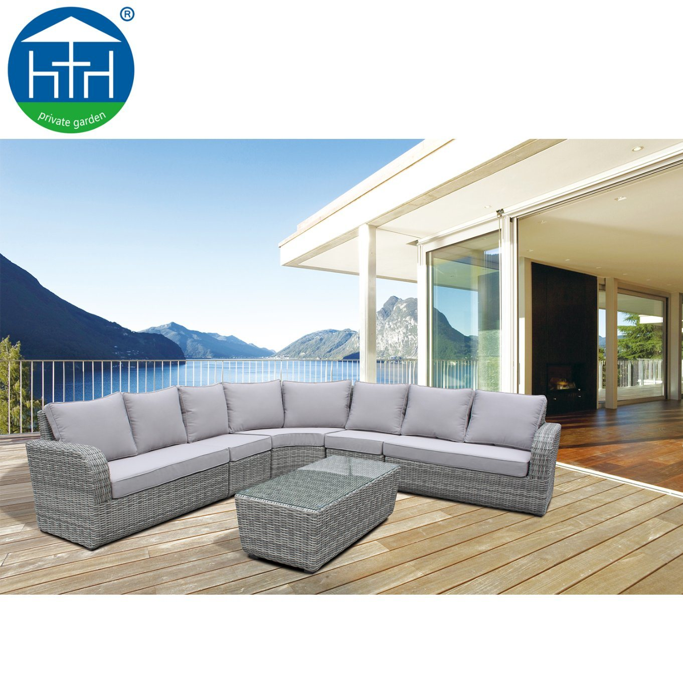 Picture of: 2019 Big Lots Outdoor Rattan Furniture Extra Large Sectional Sofa Set Patio Garden China Modular Wicker Sofa Outdoor Modular Sofa Made In China Com