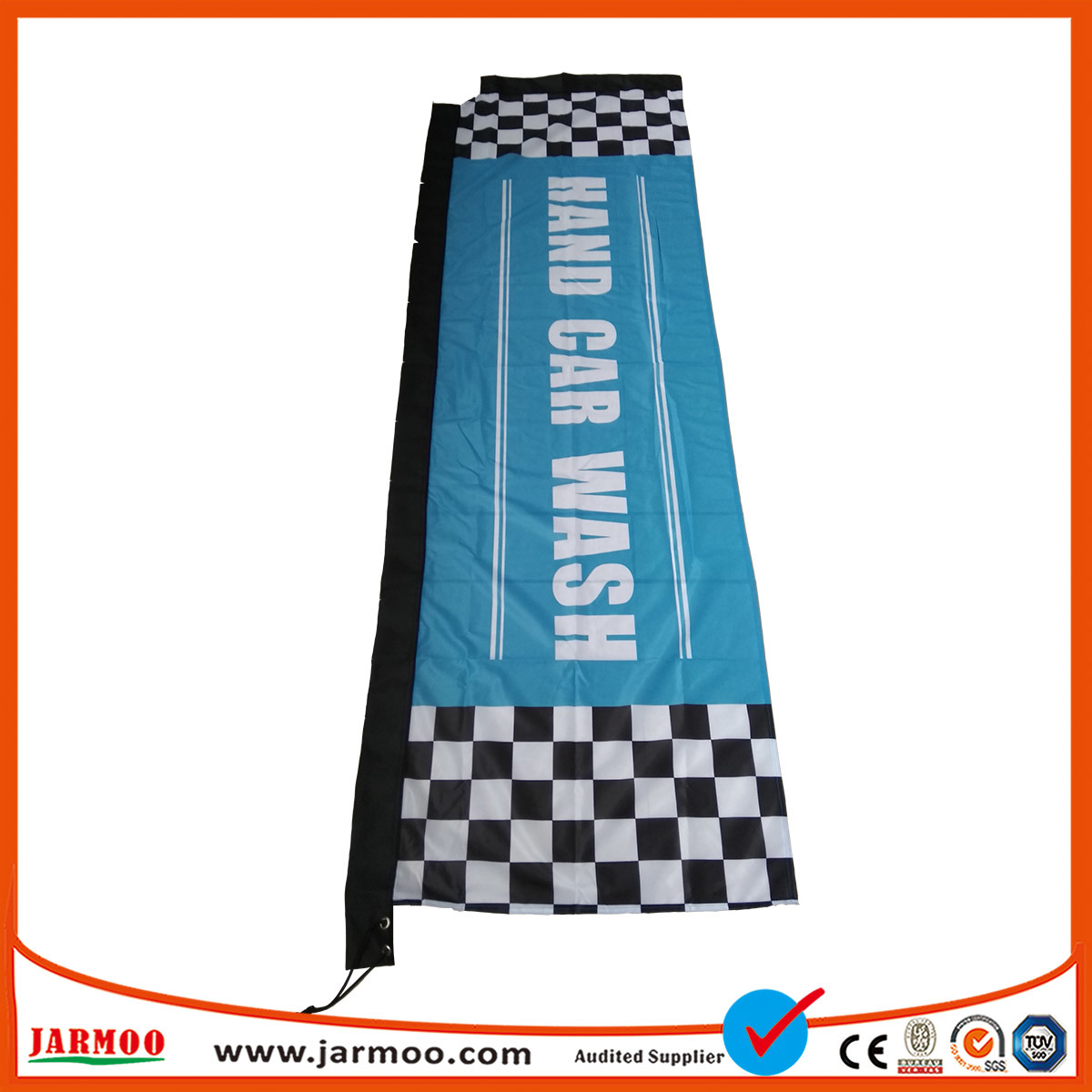 [Hot Item] Advertising Promotional Outdoor Straight Rectangular Flags and  Banners for Exhibition Event