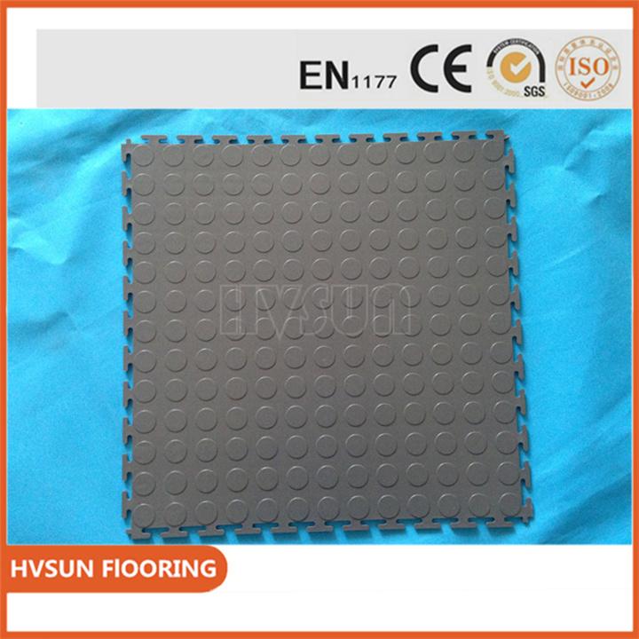 China Anti Slip Interlocking Vinyl Garage Flooring Sport Court Floor