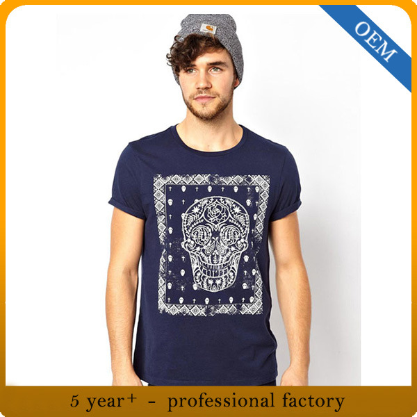 9a674d2e7 China Custom High Quality Men 100% Cotton Printing Round Neck T-Shirt -  China Custom T-Shirt, Printing T-Shirt