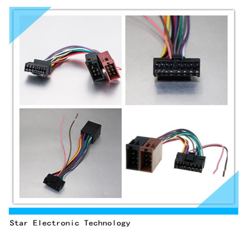 china iso wire harness for sony 16 pin radio harness sksy16 21 iso rh starconnect en made in china com