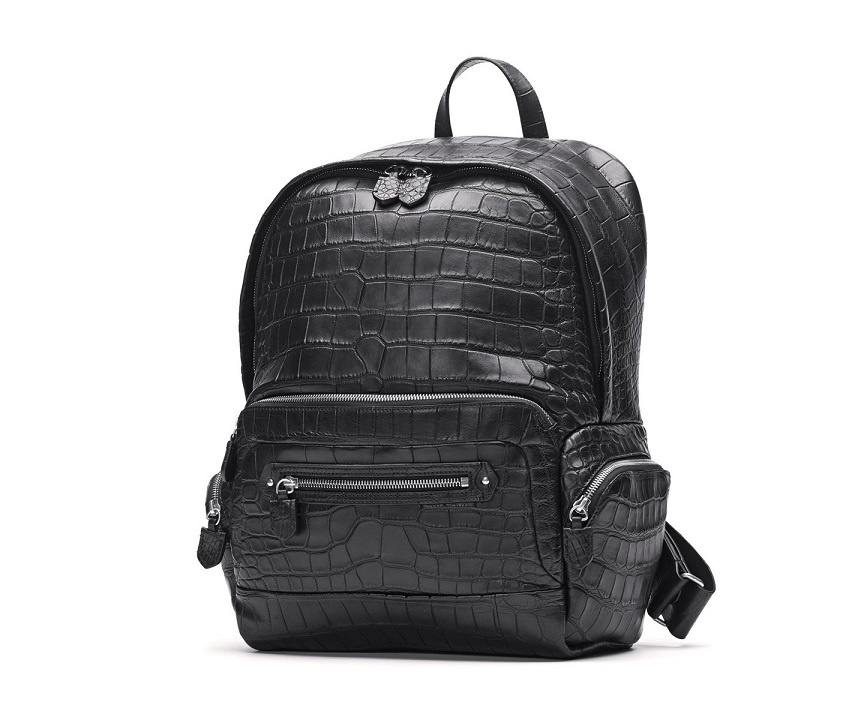 Wholesale Factory Crocodile Leather fashion Backpack (LDO-1002)