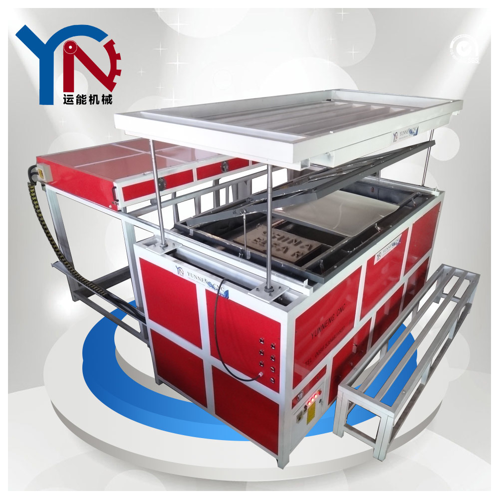 HIPS/ABS/PC/PVC/PETG/HDPE/PP/PMMA Vacuum Forming Machine for Sale
